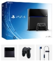 Playstation 4 500 GB black, (Playstation 4). PS4