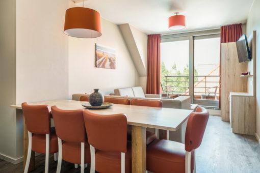Westende: Appartement voor 7 personen