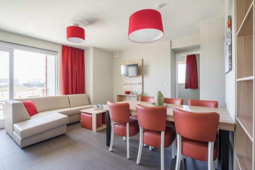 Zeebrugge: Vakantieappartement voor 6 personen (Deluxe)