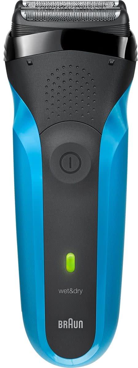 Braun Series 3 310s Scheerapparaat met scheerblad Trimmer Blauw scheerapparaat