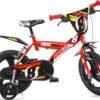 Dino 163Vln - Kinderfiets - 16 Inch - Jongens - Rood