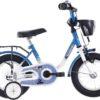 Vermont Kids - Kinderfiets - 12 Inch - Jongens - Blauw/Wit