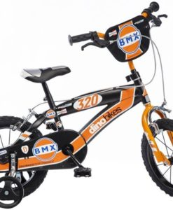 Dino BMX Kinderfiets - Jongens - 16 inch - Black Orange
