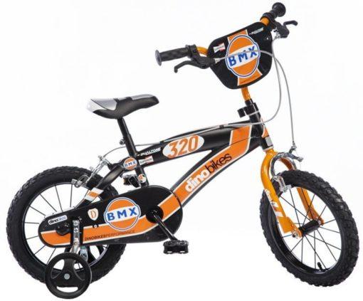 Dino BMX Kinderfiets - Jongens - 16 inch - Black Orange