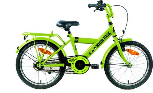 Kinderfiets Bike Fun High Risk jongens 16 inch groen