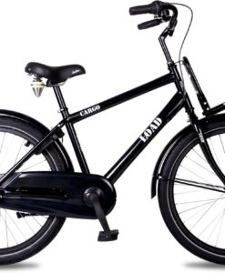 Kinderfiets Bike Fun Load jongens 24 inch nexus 3 zwart