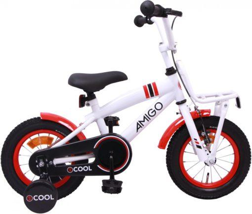 Amigo 2cool - Kinderfiets - Jongens - Wit - 12 Inch