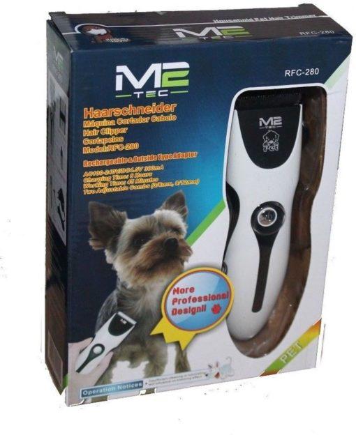 Professionele Dieren Tondeuse M2TEC RFC-280 Set met Accu Opzetkammen - Scheerapparaat Voor Honden - Katten - Trimmer - Oplaadbaar - Draadloos - Low Noise - dog clipper kit (GRATIS VERZENDING)