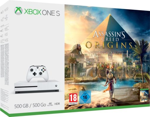 Xbox One S Assassin's Creed Console - 500 GB