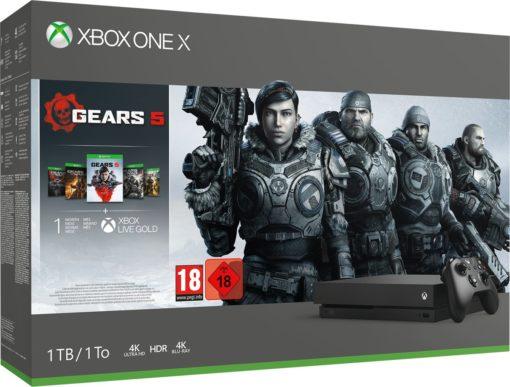 Xbox One X console 1 TB + Gears 5
