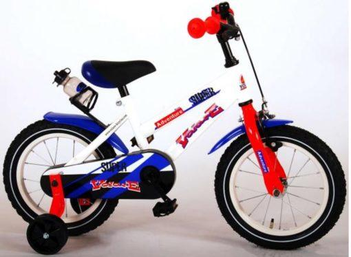 Volare Super Kinderfiets - Jongens - 14 inch - Wit