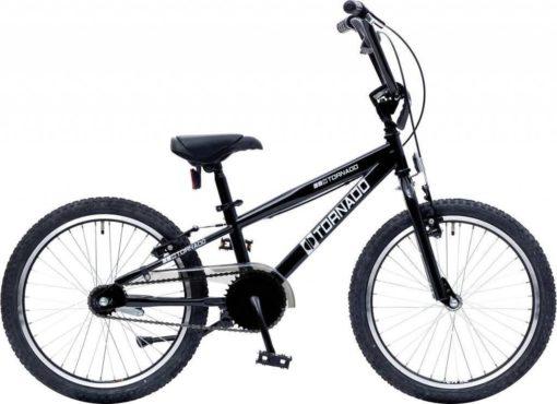 Bike Fun Cross Tornado - Kinderfiets - Jongens en meisjes - Zwart - 20 Inch