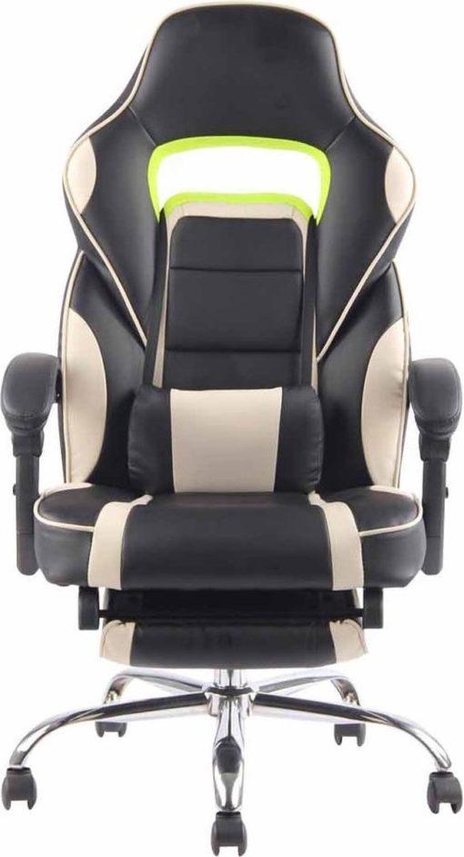 Bureaustoel - Stoel - Bureau - Flexibel - Comfortabel - Gamen - PS4 - Kunstleer - Zwart