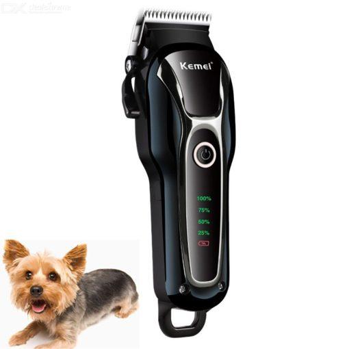 KM-1991 Hond Scheerapparaat Klipper Elektrisch Oplaadbare Tondeuses Ingesteld Voor Honden Katten Huisdieren