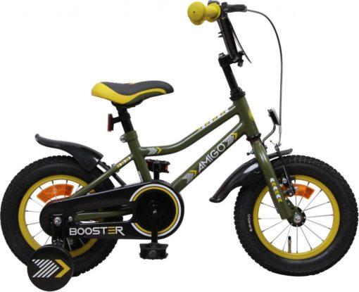 Amigo Booster - Kinderfiets - Jongens - Groen - 12 Inch