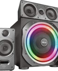 GXT 698 Torro - 5.1 Speakers - PC/PS4/Xbox One - RGB - Dolby Audio - Zwart