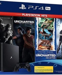 PS4 PRO Console 1TB + The Last of Us + Uncharted 1/2/3/4
