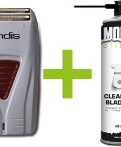 Andis Scheerapparaat Profoil Lithium Titanium Foil Shaver+ Monster Clippers Clean & Cool Blade Spray