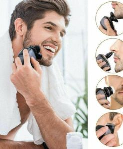 5 IN 1 4D Rotary Electric Shaver Rechargeable Bald Head Shaver Beard Trimmer scheerapparaat