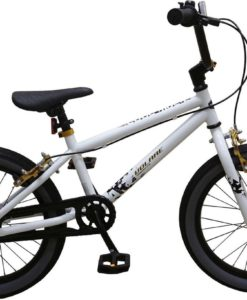 Volare Cool Rider Kinderfiets - Jongens - 18 inch - Wit - twee handremmen - 95% afgemonteerd - Prime Collection